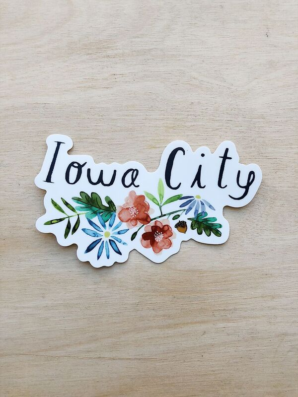 Iowa City Sticker