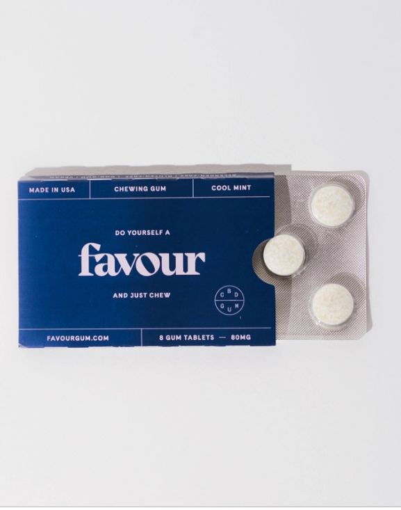 Favour CBD Gum - Mint