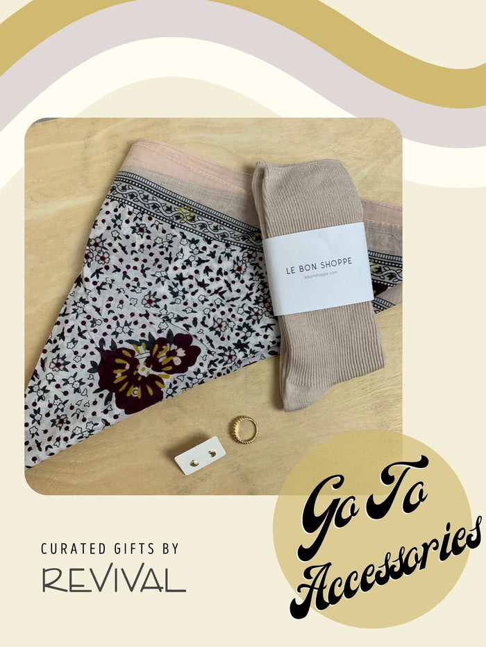 Curated Gift Boxes By Revival: Go To Accessories