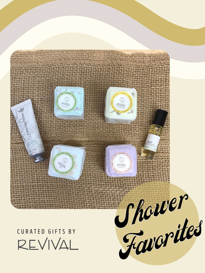 Curated Gift Boxes by Revival: Shower Favorites
