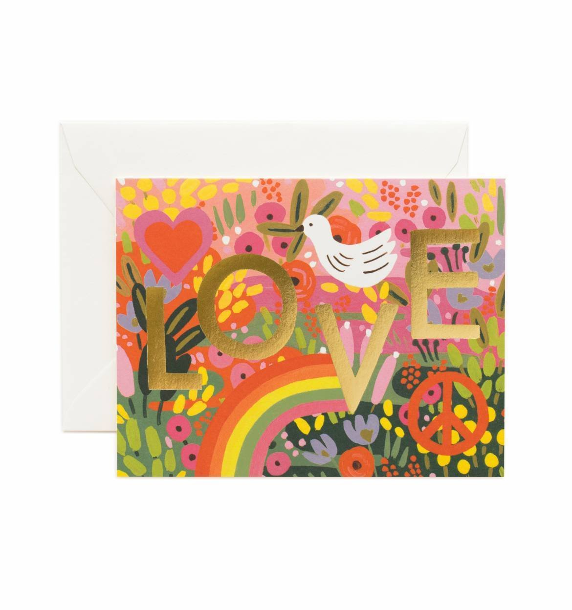 All You Need Is Love Card / Ivory Envelope
