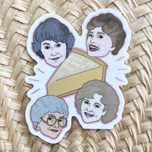 Sticker / Golden Girls