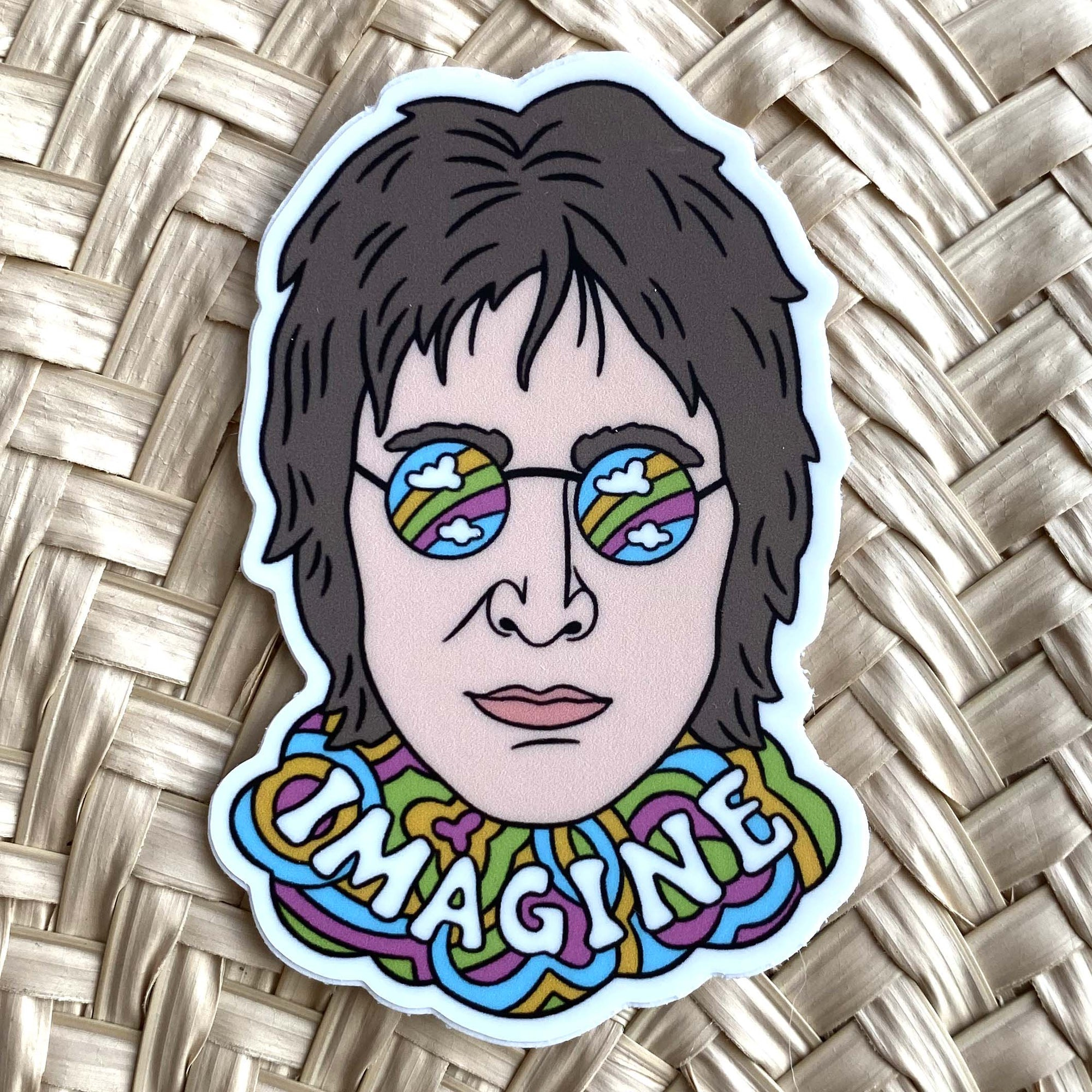 Sticker / John Lennon