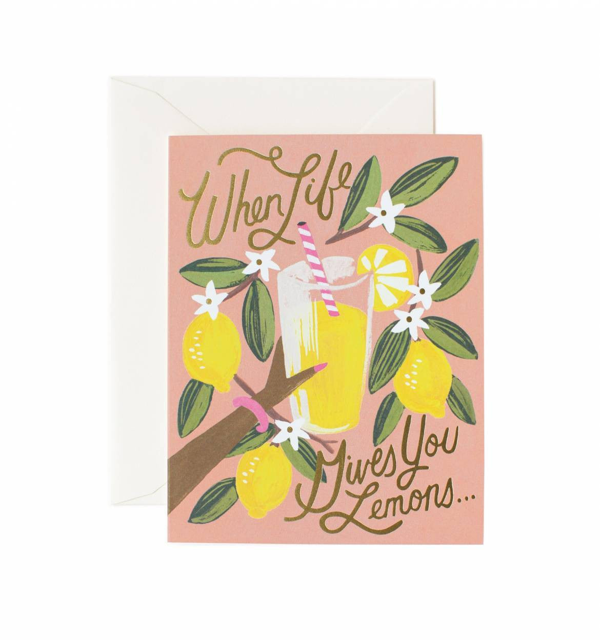 When Life Gives You Lemons Card / Ivory Envelope