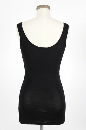 Basic Tank Top / Black
