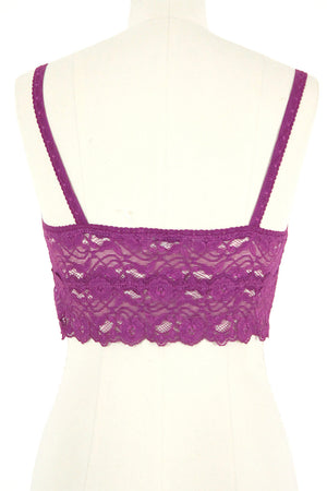 Lace Bra / Berry
