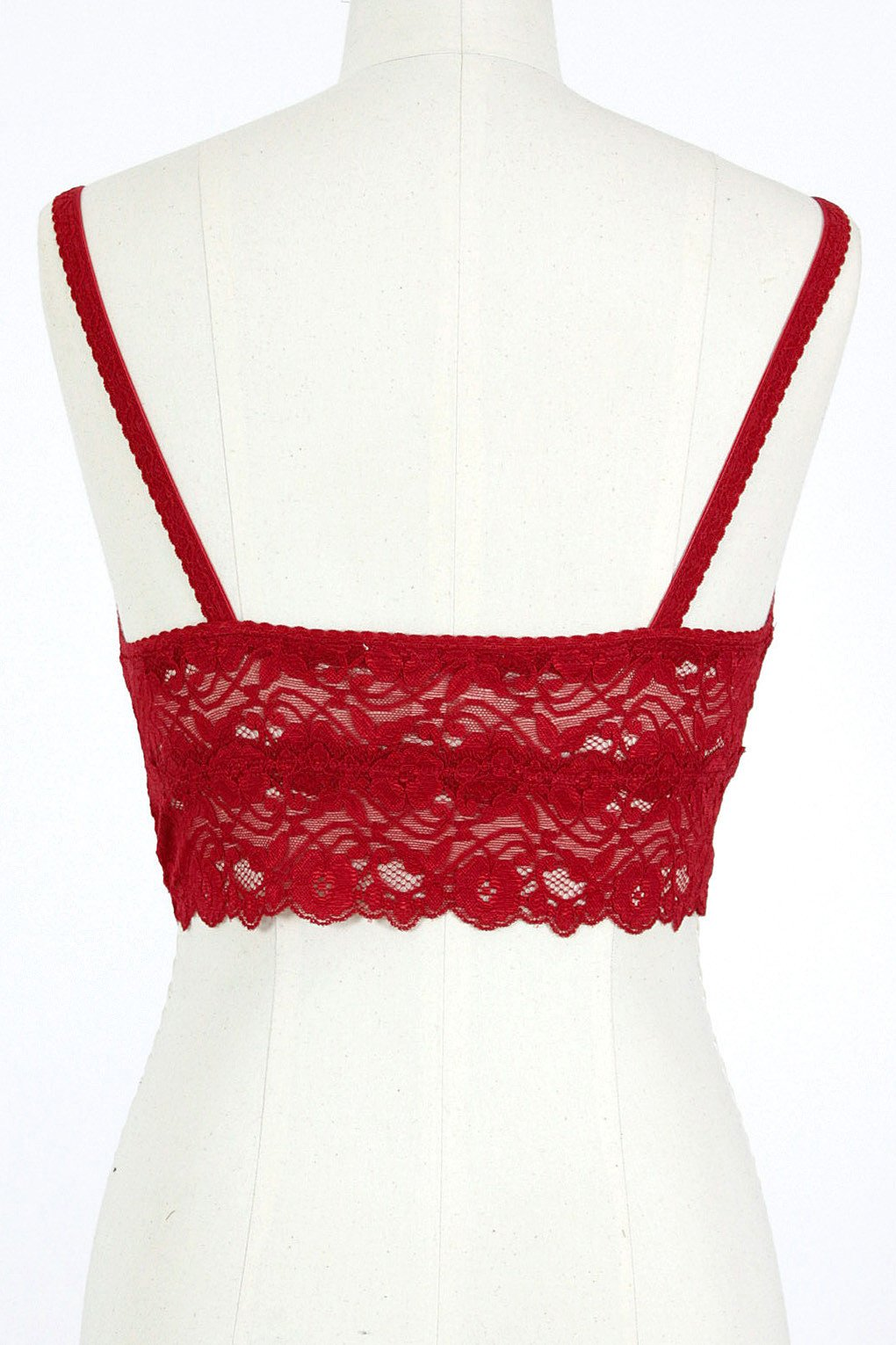 Lace Bra / Red