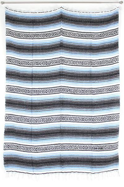 Mexican Beach Blanket / Light Blue