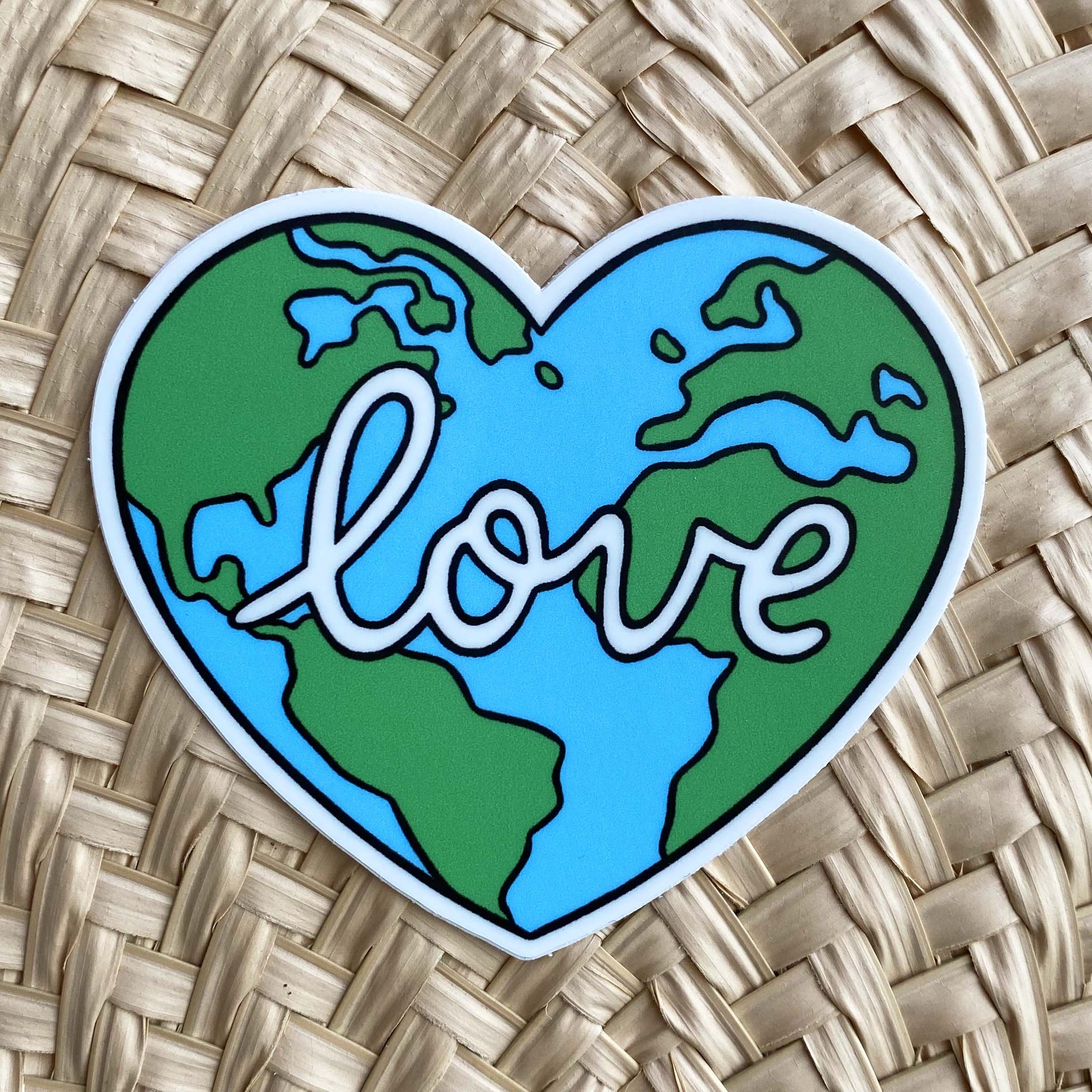 Sticker / Love Earth