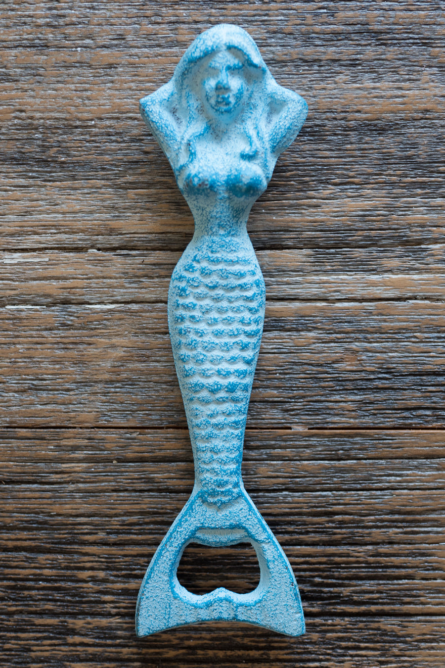 Resting Mermaid Bottle Opener / Light Blue