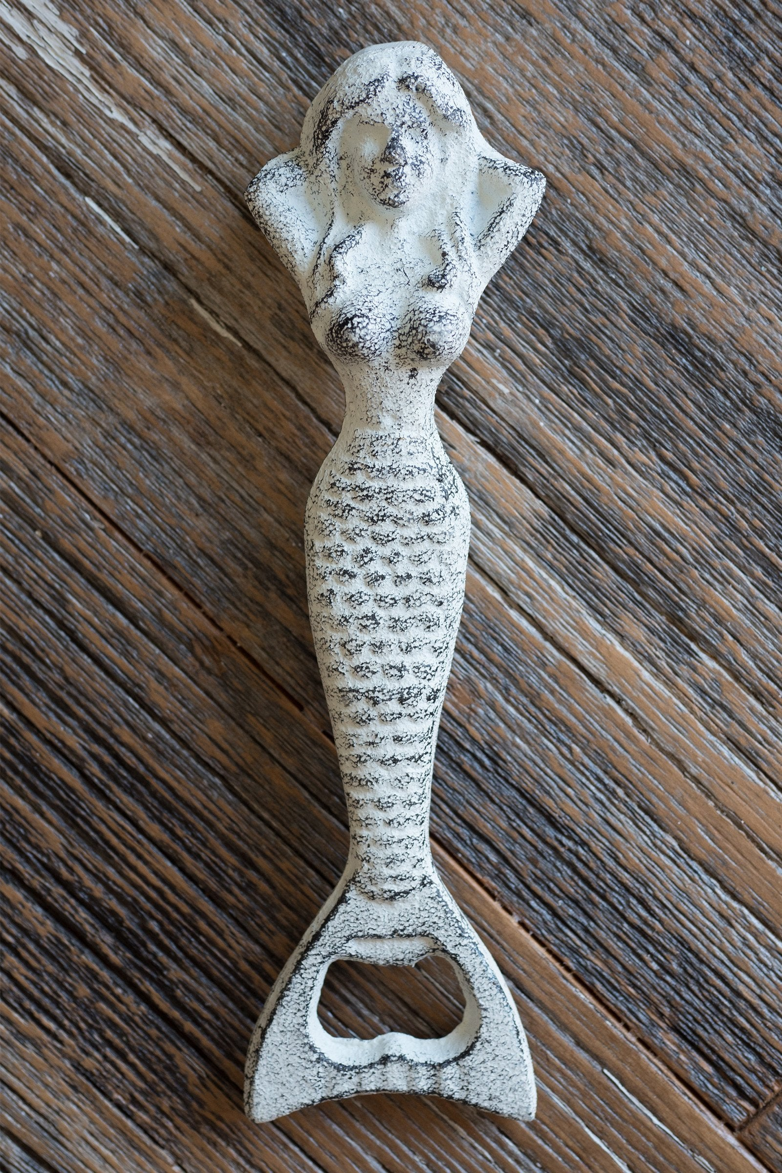 Resting Mermaid Bottle Opener / White