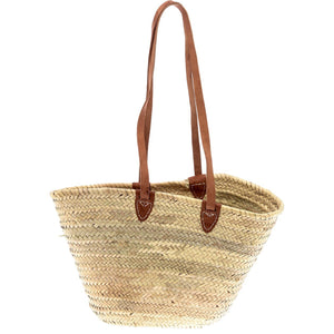 Paloma Straw Shoulder Tote / Natural