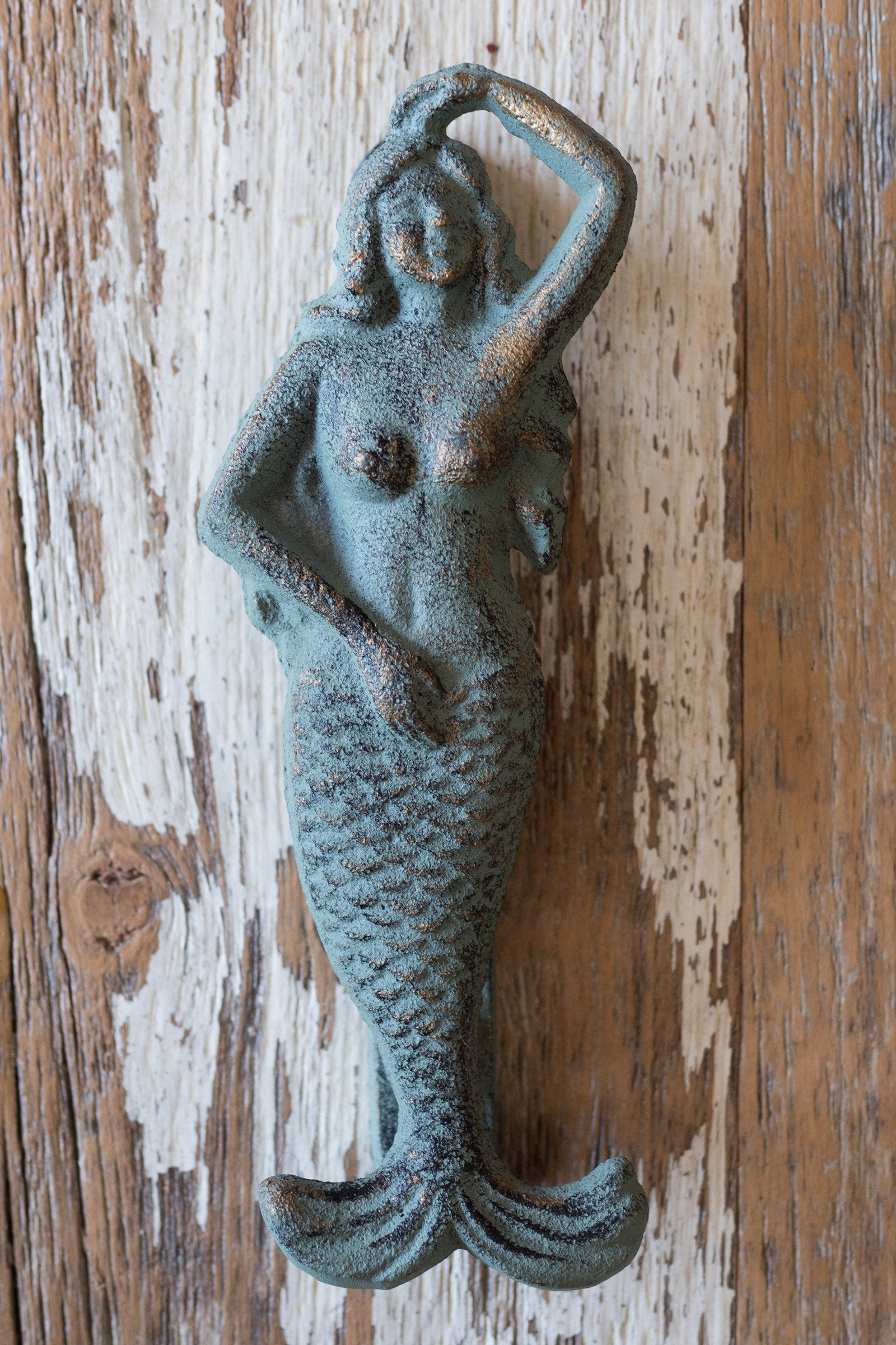 Mermaid Door Knocker / Seafoam