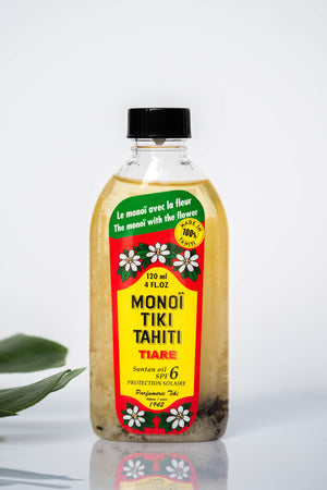 Monoi Tiare Oil - Gardenia with SPF / 4oz