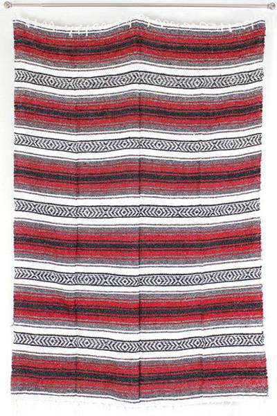 Mexican Beach Blanket / Red