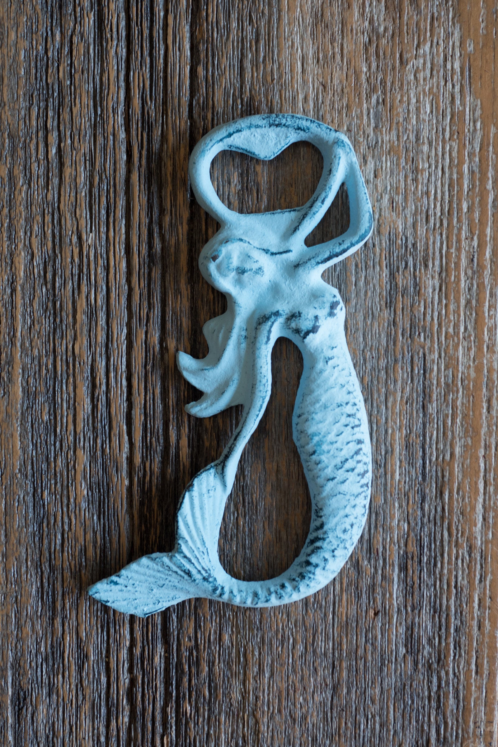 Swimming Mermaid Bottle Opener / Light Blue