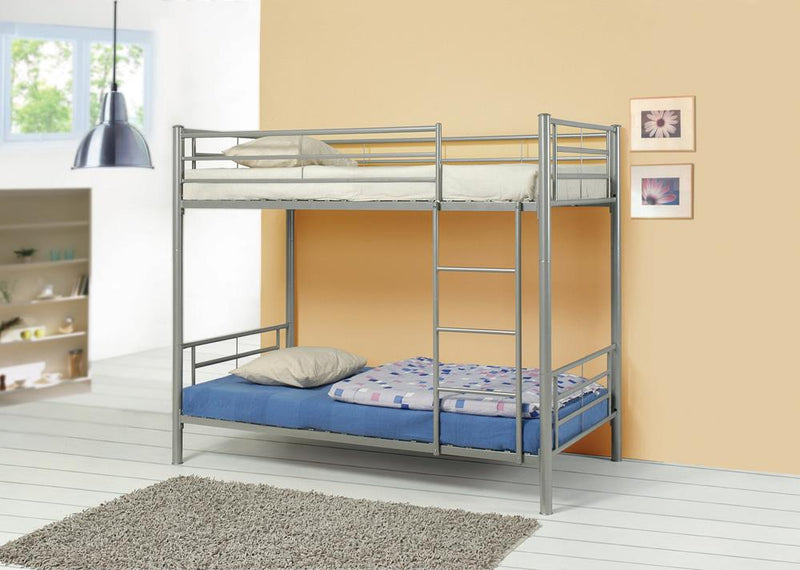 Denley Metal Twin-over-Twin Bunk Bed image