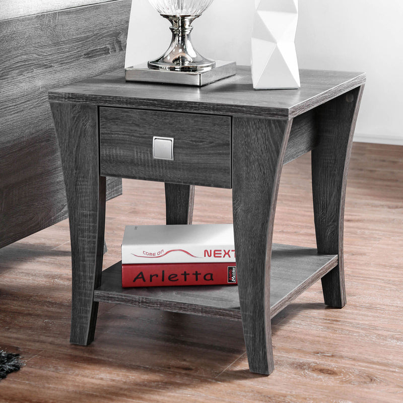 Amity Gray End Table image