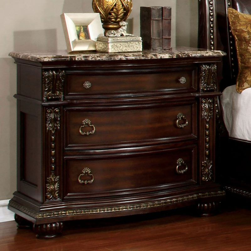 Fromberg Brown Cherry Night Stand image