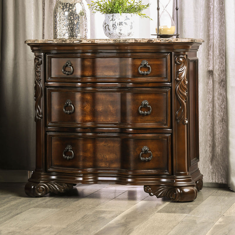 Arcturus Brown Cherry Night Stand image