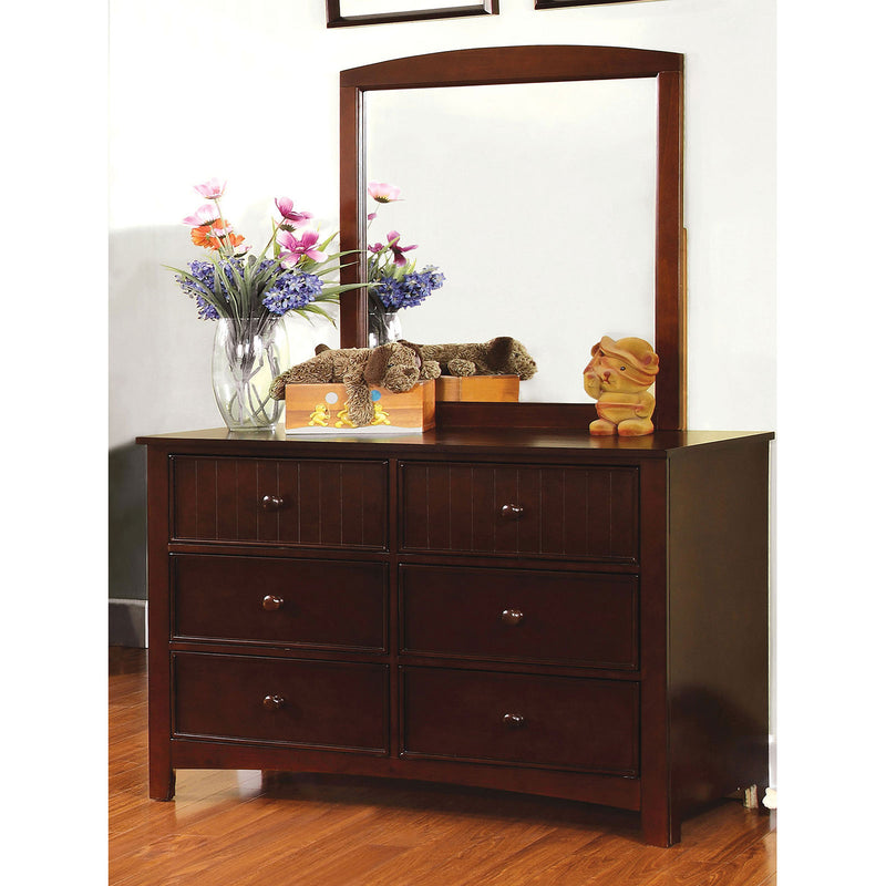 Corry Dark Walnut Dresser image