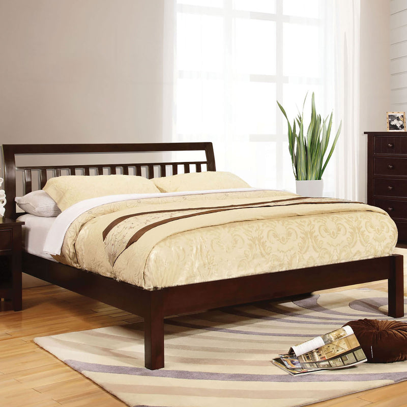 Corry Dark Walnut Cal.King Bed image