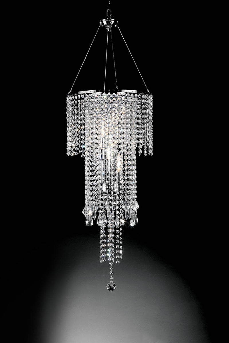 "Alrai Clear 32""H Ceiling Lamp image"