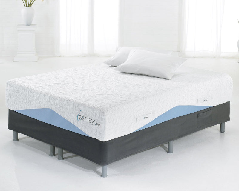 12 Inch Chime Elite Queen Foundation with Mattress image