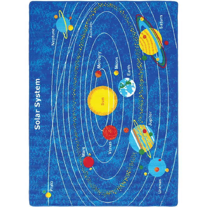 "Abbey Solar System 4' 9"" X 6' 9"" Area Rug image"