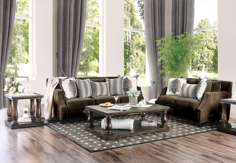 Cornelia Light Brown Sofa + Love Seat image