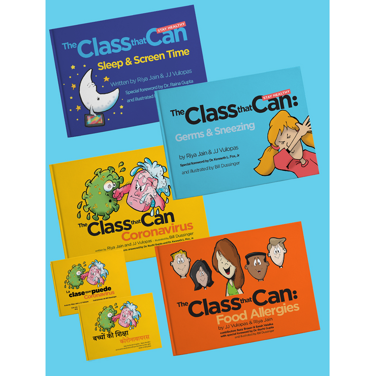 The Class That Can: Stay Healthy Books!