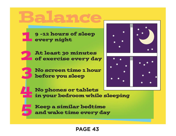 The Class That Can: Sleep & Screen Time (Children's Healthcare Associates eBook)