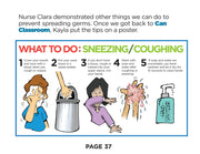 The Class That Can: Germs & Sneezing (Paperback)
