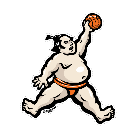 Air Sumo Decal