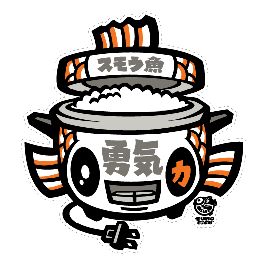 Koi Ricecooker Decal
