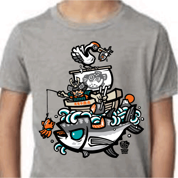 tuna fisherman maguro hunter tshirt