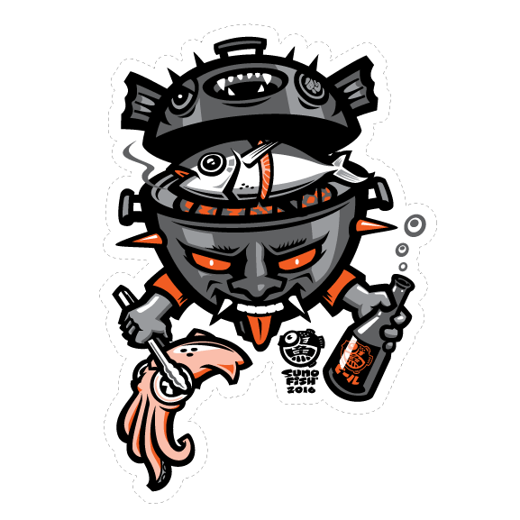 Oni Grill Decal