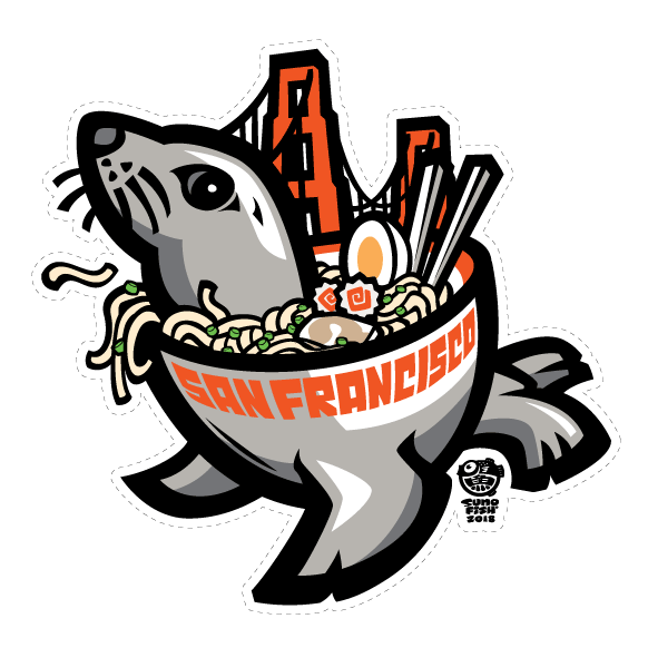 Ramen Seal Decal
