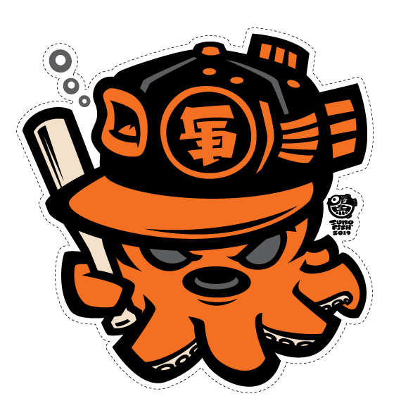 SF Tako Decal
