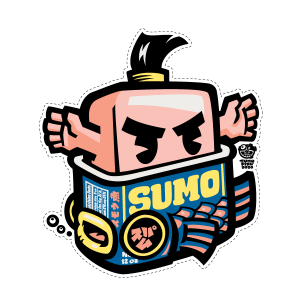 Spam Sumo Decal