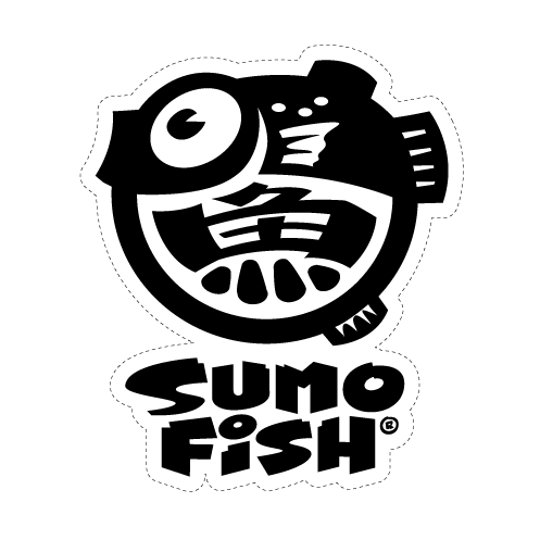 Sumofish Logo Decal