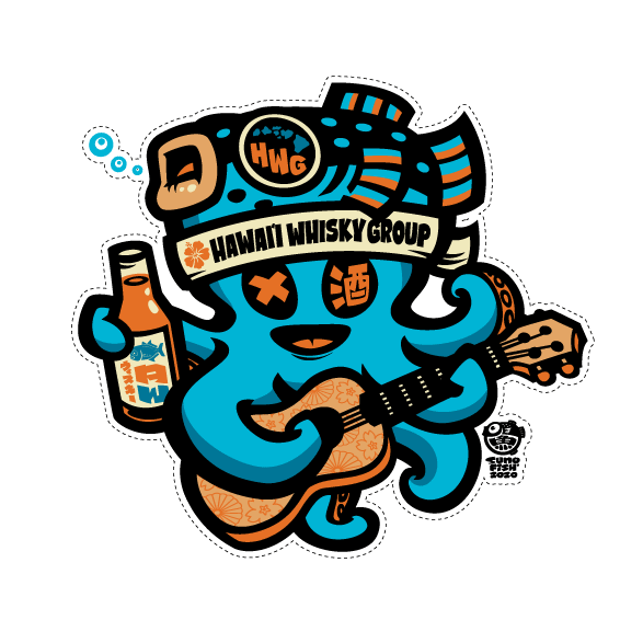 Whisky Tako Decal (HWG Collab)