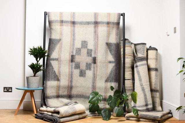 Curious Yak - Geometric Pure Wool Rug