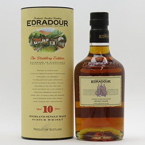 Edradour 10 Year Old Single Malt Scotch Whisky, 70 cl