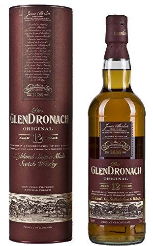 Glen Dronach 12 Year Old Highland Single Malt Scotch Whisky, 70 cl