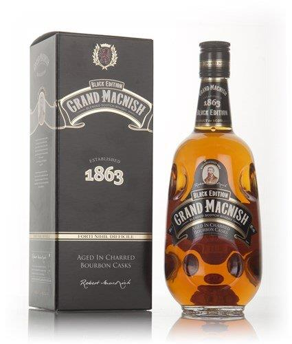 Grand Macnish Black Edition Blended Whisky, 70cl
