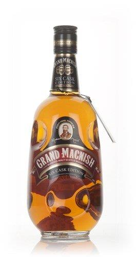Grand Macnish Six Cask Edition Blended Malt Whisky, 70cl