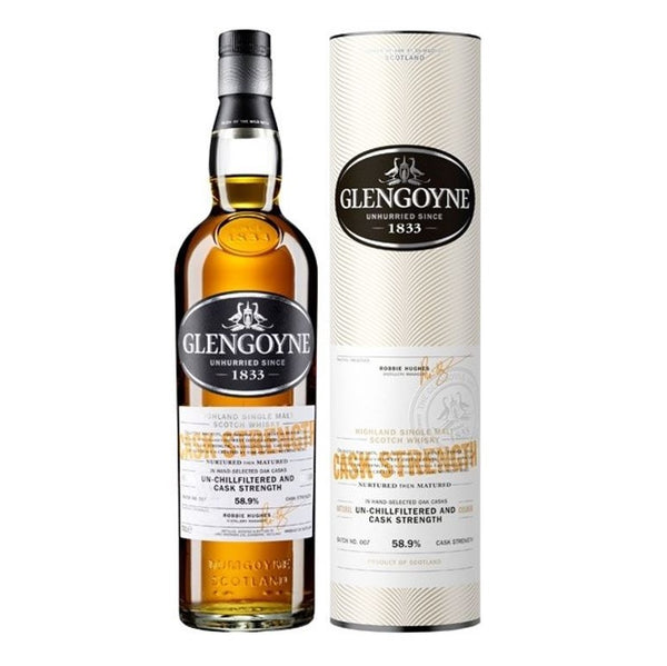 Glengoyne Cask Strength - Batch 7 Single Malt Whisky, 70cl