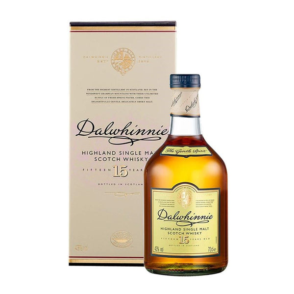 Dalwhinnie 15 Year Old Malt Whisky, 70cl