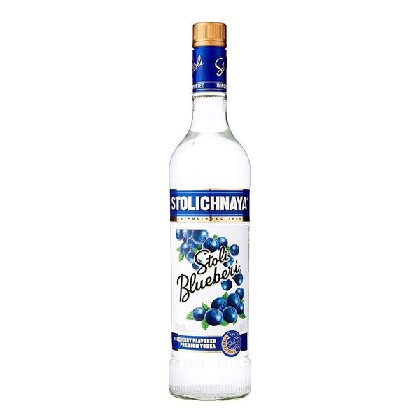 Stolichnaya Blueberi Vodka, 70cl